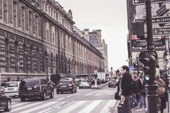Paris no crepúsculo Imagens de Stock