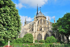 Paris. Notre Dame Arkivbilder