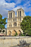 paris Notre Dame Foto de Stock Royalty Free