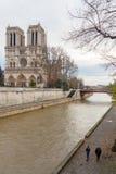 paris Notre Dame Fotos de Stock Royalty Free
