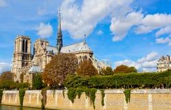 Paris, Notre Dame Royalty Free Stock Photos