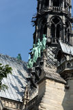 Paris, Notre Dame Cathedral Stock Photography