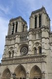Paris Notre Dame Cathedral Stock Images