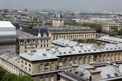 Paris and Notre Dame Cathedral - Paris  famous of all Chimeras, Stock Images
