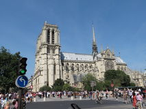 Paris, Notre Dame Royalty Free Stock Photography
