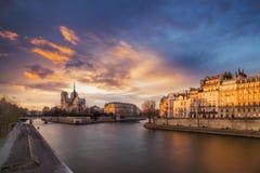 Paris notre Dame Stock Photography