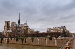 Paris. Notre Dame. Stock Photos