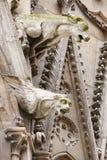 Paris, Notre Dame gargoyles statues Royalty Free Stock Image