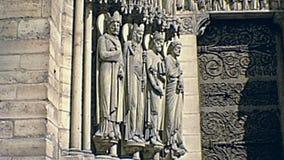 Paris Notre Dame banque de vidéos