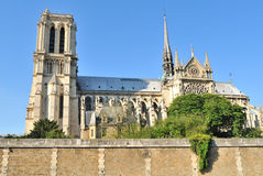 Paris. Notre Dame Stock Photo