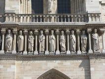 Paris, Notre Dame sculptures Royalty Free Stock Image