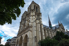 Paris Notre Dame  5. A view on Notre Dame in Paris Royalty Free Stock Image