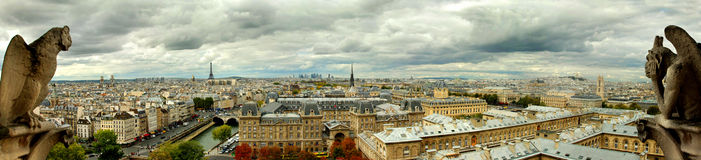 Paris by Notredame Stock Photos