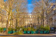 Paris, o parc Monceau fotos de stock royalty free