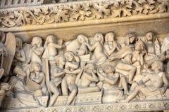 Paris - o Sainte-Chapelle Foto de Stock