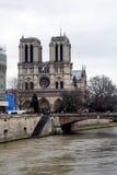 Paris och promenaden arkivbild