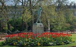 Paris ogrodu fotografia stock