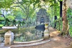 Paris. Old fountain Medici Royalty Free Stock Photos