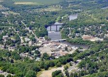 Paris Ontario aerial Royalty Free Stock Photo