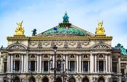 Paris-Oper, Garnier Palace Lizenzfreies Stockbild