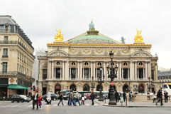 Paris Opera Royalty Free Stock Photography
