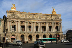 The Paris Opera. (French: Op�ra de Paris, or simply the Op�ra) is the primary opera company of Paris, France. It was founded in 1669 by Louis XIV as the Stock Photo