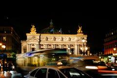 Paris opera royaltyfria foton
