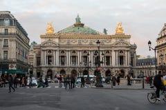 Paris Opera building stock photo