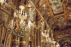 Paris Opera Garnier Royalty Free Stock Images