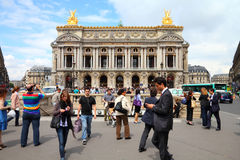 Paris - Opera Garnier Stock Photos