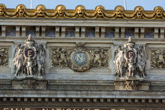 The Paris Opera or Garnier Palace.France. Royalty Free Stock Photography