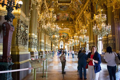 Paris Opera house Stock Photo