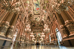 Paris Opera house in Paris, France Royalty Free Stock Image