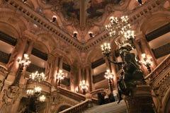 Paris Opera house in Paris, France stock photography
