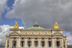 Paris Opera Stock Photo