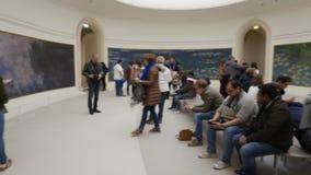 Paris Orangerie museum stock video