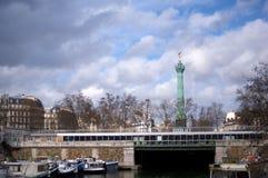 Paris-Ort der Bastille Stockbild