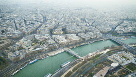 Paris overview Stock Image