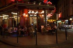 Paris på natten Arkivbild