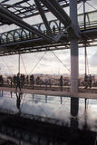 Paris på Pompidou Royaltyfri Foto
