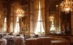 PARIS: Palace hotel of Crillon Stock Photo