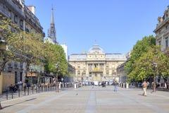 Paris. Palace of Justice Stock Photography