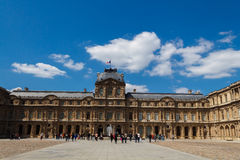Paris. Palace of the Louvre. Royalty Free Stock Photo
