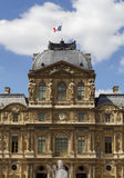 Paris. Palace of the Louvre. Royalty Free Stock Photos