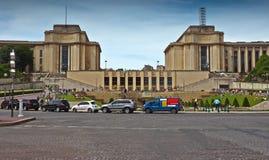 Paris - Palais de Chaillot Royalty Free Stock Photo