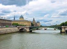 Paris - Palais de Justice Royalty Free Stock Images