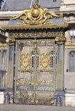Paris, Palais de Justice Gate Lizenzfreie Stockfotos