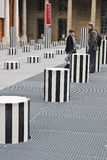 Paris: Palais Royal Lizenzfreie Stockfotografie