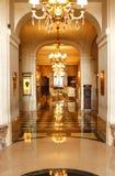 PARIS: Palasthotel von Crillon Stockbilder