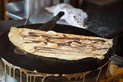Paris pancake Stock Photo